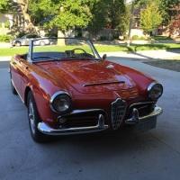 Almost Pebble: 1965 Alfa Romeo Giulia Spider Veloce