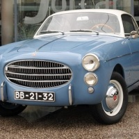 Less than ten: 1954 Fiat 1100 TV Coupé by Ghia