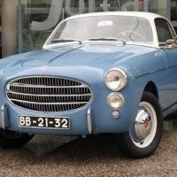 Less than ten: 1954 Fiat 1100 TV Coupé by Ghia
