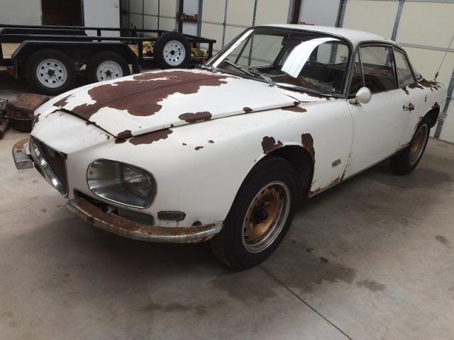 Rare bird: 1966 Alfa Romeo 2600 Sprint by Zagato | Clic Virus