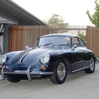 Black on black: 1964 Porsche 356 SC