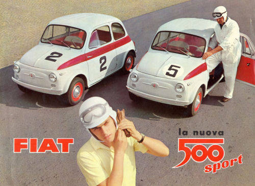 The Special One 1960 Fiat 500 N Sport Classic Virus