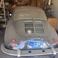 Garage needed: 1964 Porsche 356 SC