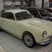"Swiss white: 1958 Alfa Romeo Giulietta Sprint Veloce ""Confortevole"""
