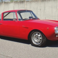 Italian japanese: 1963 Fiat 1600S Coupé by Fissore