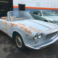 Fits good: 1962 Lancia Flavia Convertibile by Vignale