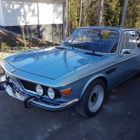 800 hp: 1972 BMW 3.0 CS Turbo
