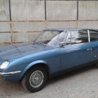 "A blue one: 1968 Fiat 125 ""Samantha"" by Vignale"