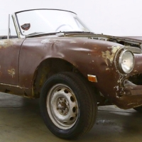 Late car: 1965 Alfa Romeo Giulia Spider Veloce