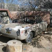 Santa Fe Trail: 1959 Lancia Appia Convertibile by Vignale