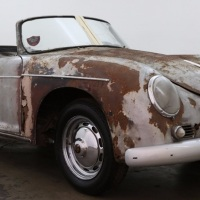 Matching rust: 1959 Porsche 356A Convertible D by Drautz