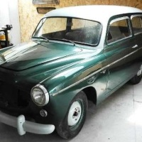 "Green light: 1956 Fiat 1100-103 ""Giardinetta"" by Viotti"