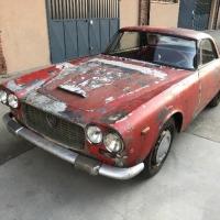 Born grey: 1961 Lancia Flaminia Coupé GT by Touring
