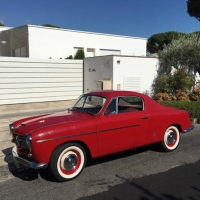 An early one: 1954 Fiat 1100 TV Coupé by Pininfarina