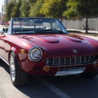 Modded: 1979 Fiat 124 Spider 2.0