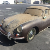 Chocolate powder: 1961 Porsche 356B T5 Coupé