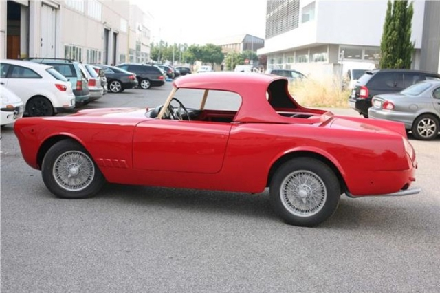 Highly Optioned 1959 Alfa Romeo 2000 Spider By Touring Classic Virus
