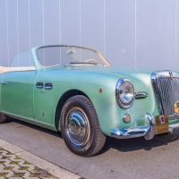 Green aluminium: 1952 Siata Daina Trasformabile by Farina