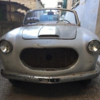 Cut away: 1954 Siata 1100 Coupé by Vignale