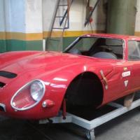 Confiscated: 1966 Alfa Romeo TZ2 replica