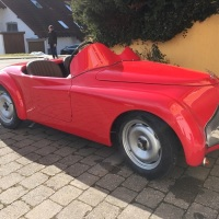 Never on the market: 1937 Fiat 500B Sport Barchetta