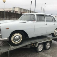 Even for parts: 1962 Lancia Flaminia Berlina by Pininfarina