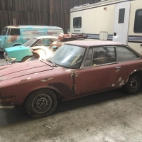 Almost complete: 1967 BMW-Glas V8 3000