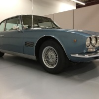 Texas blue: 1971 Maserati Mexico 4.7