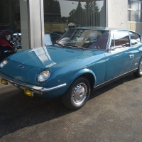 "Twin cam blue: 1969 Fiat 125 S ""Samantha"" by Vignale"