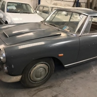 Grey patina: 1962 Lancia Flaminia Coupé 2.5 by Pininfarina