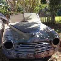 Field find: 1950 Simca 8 Sport Convertible