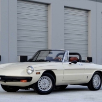 Lots of records: 1981 Alfa Romeo Spider 2000
