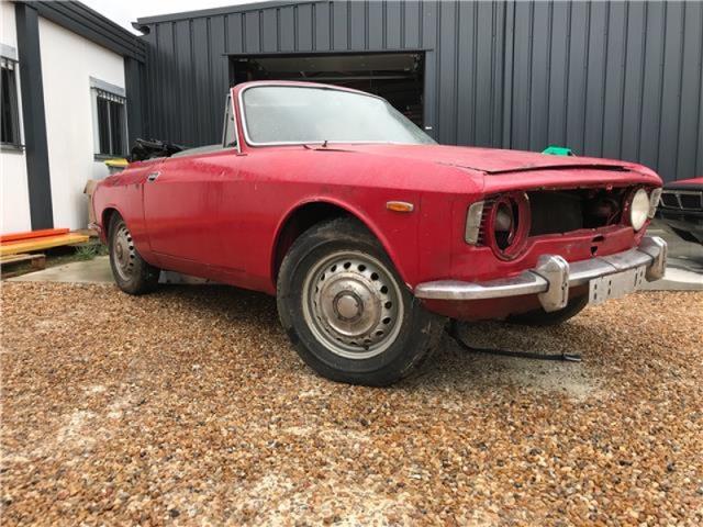 One Eyed 1965 Alfa Romeo Giulia Sprint Gtc Classic Virus