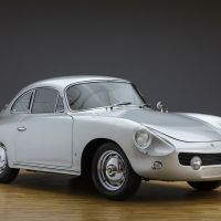 Restyling attempt: 1961 Porsche 356 B T6 Coupé by Ghia-Aigle