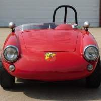 H Class racer: 1959 Abarth 750 Spider by Allemano