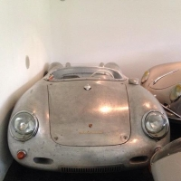 Aluminium body: 1957 Porsche 356/550 by Wendler