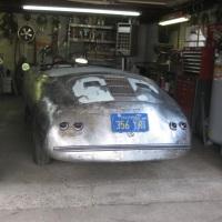 """Funny car: 1961 Porsche 356 T5 Hardtop """"Sprint"""""""