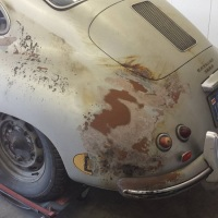 Close to death: 1956 Porsche 356 A T1 Coupé