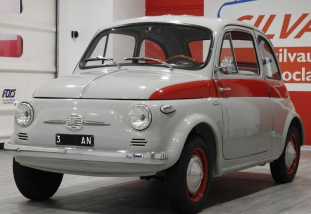 Even Rarer 1959 Fiat 500 N Sport Tetto Rigido Classic Virus