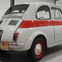 "Even rarer: 1959 Fiat 500 N Sport ""Tetto rigido"""