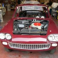 Burgundy special: 1963 Siata 1300 TS Coupé by Michelotti