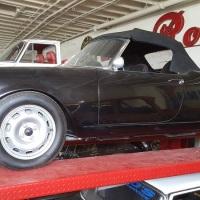 Wide wheels: 1958 Alfa Romeo Giulietta Spider Veloce