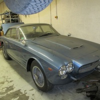 French pale blue: 1964 Maserati Sebring by Vignale