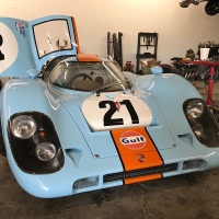 Horizontal fan: 1970 Porsche 917K replica by Norwood