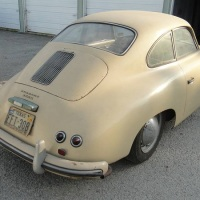 Old ivory: 1954 Porsche 356 Coupé