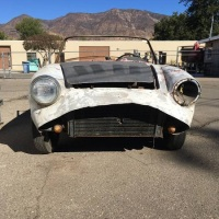 Plenty of rust: 1959 Abarth 750 Spyder by Allemano
