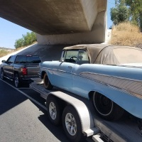 Larkspur barn find: 1957 Chevrolet Bel Air Convertible