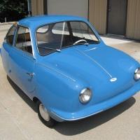 Blue egg: 1957 Fuldamobil S-7