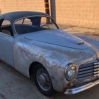 Palm Springs award: 1950 Simca 8 Sport Coupe by Facel