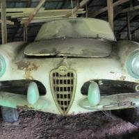 Seven and half: 1956-1962 Giulietta Spider stock